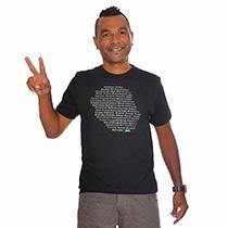 T-shirt Hashtag La Réunion