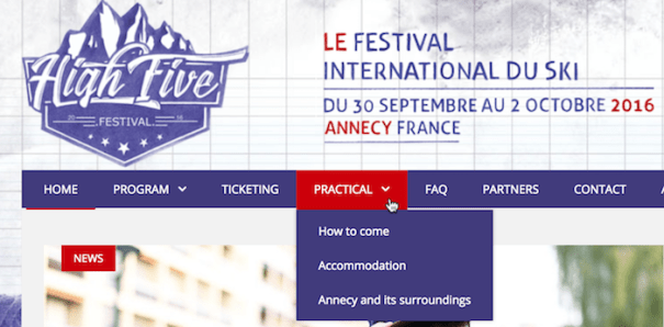 High Five Festival Annecy