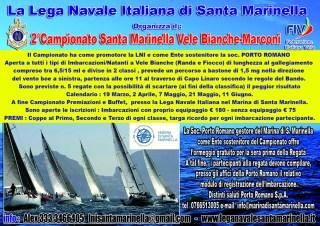 LNI Santa Marinella - Campionato Vele bianche-Marconi