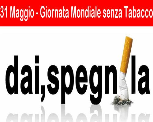 giornata mondiale enza tabacco