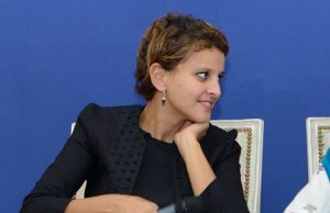 Najat Vallaud-Belkacem cible Miley Cyrus