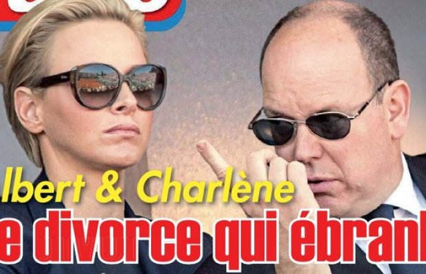 Charlene de Monaco Albert divorce