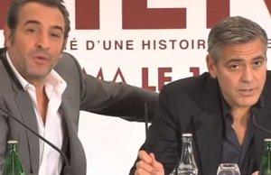 Jean Dujardin fait hurler de rire George Clooney