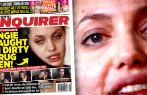 Angelina Jolie junkie attaque le Daily Mail