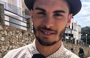 Baptiste Giabiconi faux-bond fans cause angine