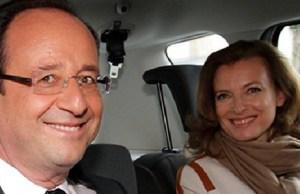 François Hollande seul
