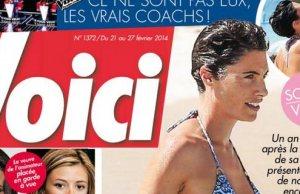 Alessandra Sublet et Clément Miserez parents Alphonse