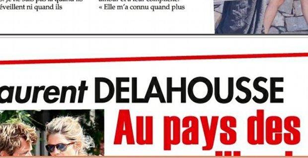 Alice Taglioni savoure son bonheur avec Laurent Delahousse