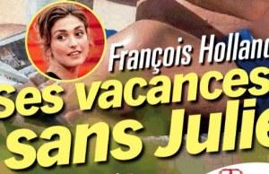 Julie Gayet- François Hollande vacances