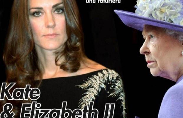 Kate Middleton évite la reine comme la peste