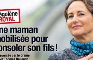 Segolene Royal console Thomas Hollande victime separation