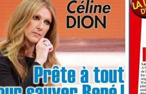 Céline Dion rassurée par l'état de René Angelil