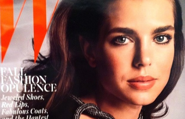 Charlotte Casiraghi «en beauté» en Une du magazine W