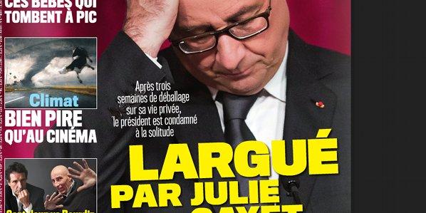 François Hollande largué par Julie Gayet selon VSD