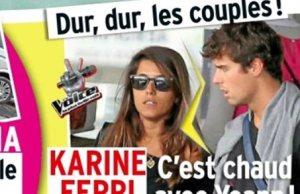Karine Ferri, Yoann Gourcuff revoit ses prétentions la baisse