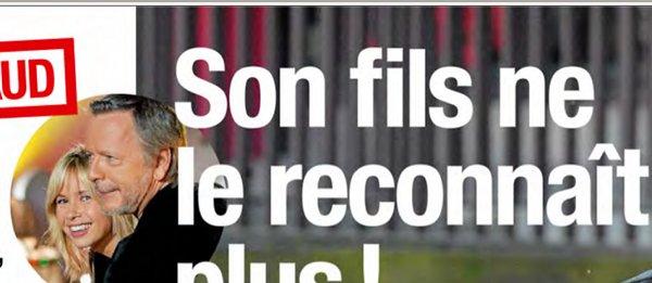 Renaud, son fils ne le reconnait pas
