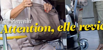 Valérie Trierweiler, son retour craint par l'Elysée
