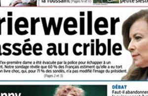 Valerie Trierweiler mise ecart cause de François Hollande