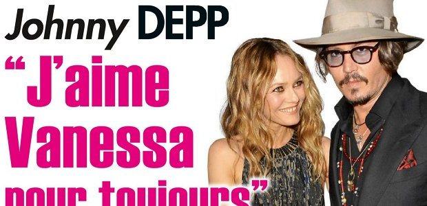 Vanessa Paradis 128 millions grâce à Johnny Depp