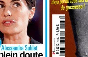 Alessandra Sublet en proie au doute
