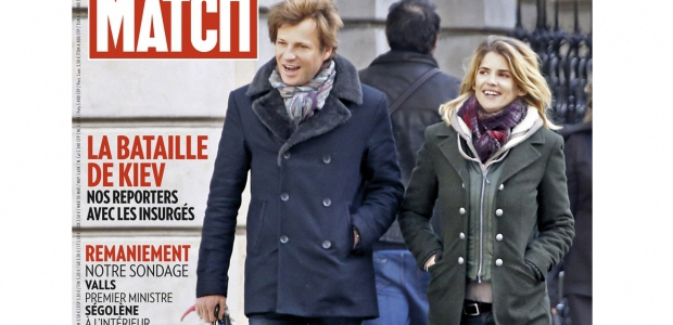 Alice Taglioni et Laurent Delahousse agaces par Paris Match
