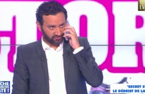 Cyril Hanouna « grosse fatigue » au Parc des princes
