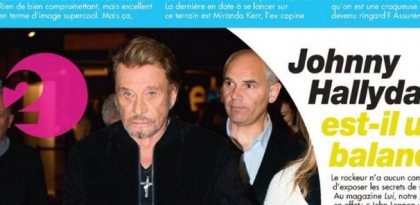 David Hallyday (Rising Star), un tacle de Johnny Hallyday