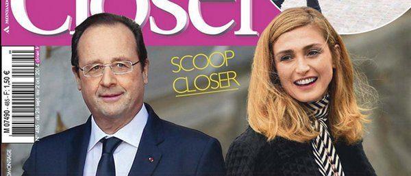 Julie Gayet- François Hollande ramasse a la petite cuillere