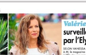 Valérie Trierweiler surveillée de près par François Hollande