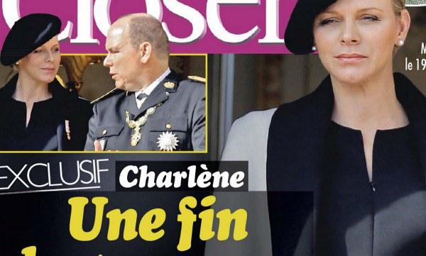 Albert de Monaco met Charlène de Monaco au repos forcé
