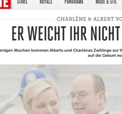 Charlène de Monaco maintient Albert de Monaco dans l'ignorance