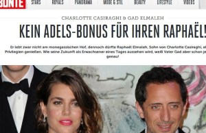 Charlotte Casiraghi oublie Gad Elmaleh à Beverly Hills