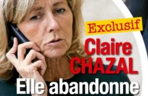 Claire Chazal abandonne sa place selon France Dimanche