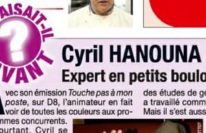 Cyril Hanouna, l'expert des petits boulots