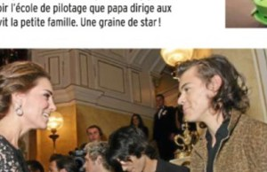 En forme, Kate Middleton intimide Harry Styles