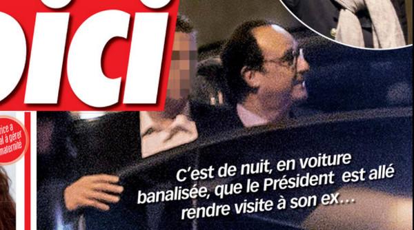 François Hollande revoit Valérie Trierweiler en secret selon Voici