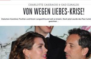 Gad Elmaleh et Charlotte Casiraghi, l'amour à cause de la crise
