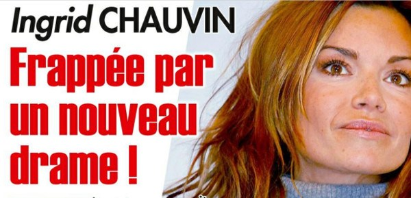 Ingrid Chauvin, des séquelles après son accident
