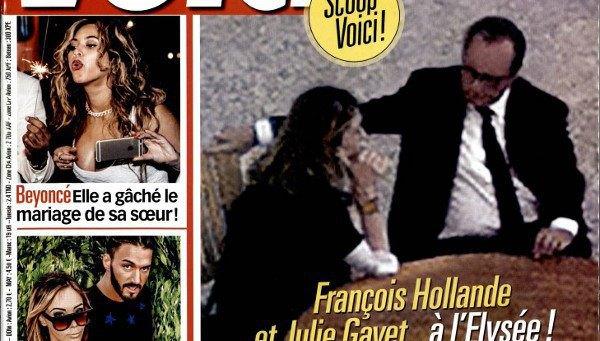 Julie Gayet et François Hollande, un peu de relâchent selon Voici