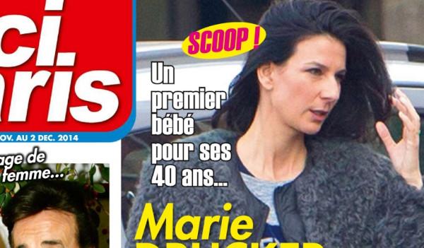 Marie Drucker enceinte de Mathias Vicherat selon Ici Paris