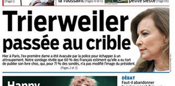 Valérie Trierweiler déjà en couple selon Nicolas Sarkozy