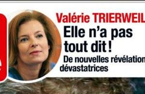 Valérie Trierweiler, le grand déballage à la BBC et dans Time