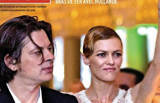 Vanessa Paradis et Benjamin Biolay en live chez Antoine de Caunes