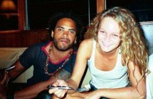 Vanessa Paradis et Lenny Kravitz, accros au Fallafel