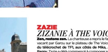 Zazie, la zizanie dans The Voice 4