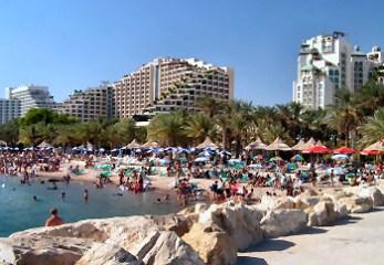 Vacances en Israël - Eilat plage