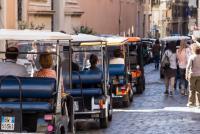 tourist tour in rome