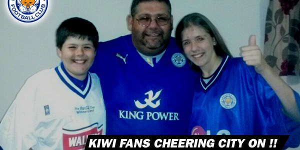 Kiwi are Cheering City On !