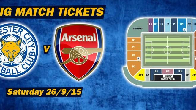 Big Match Tickets Arsenal