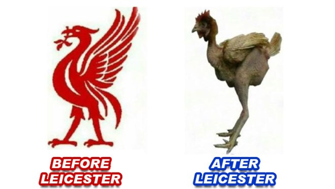 LIVERPOOL - BEFORE AFTER LEICESTER